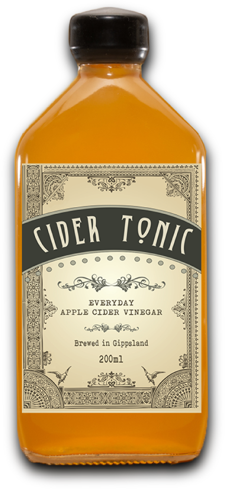 Cider Tonic's Original apple cider vinegar bottle